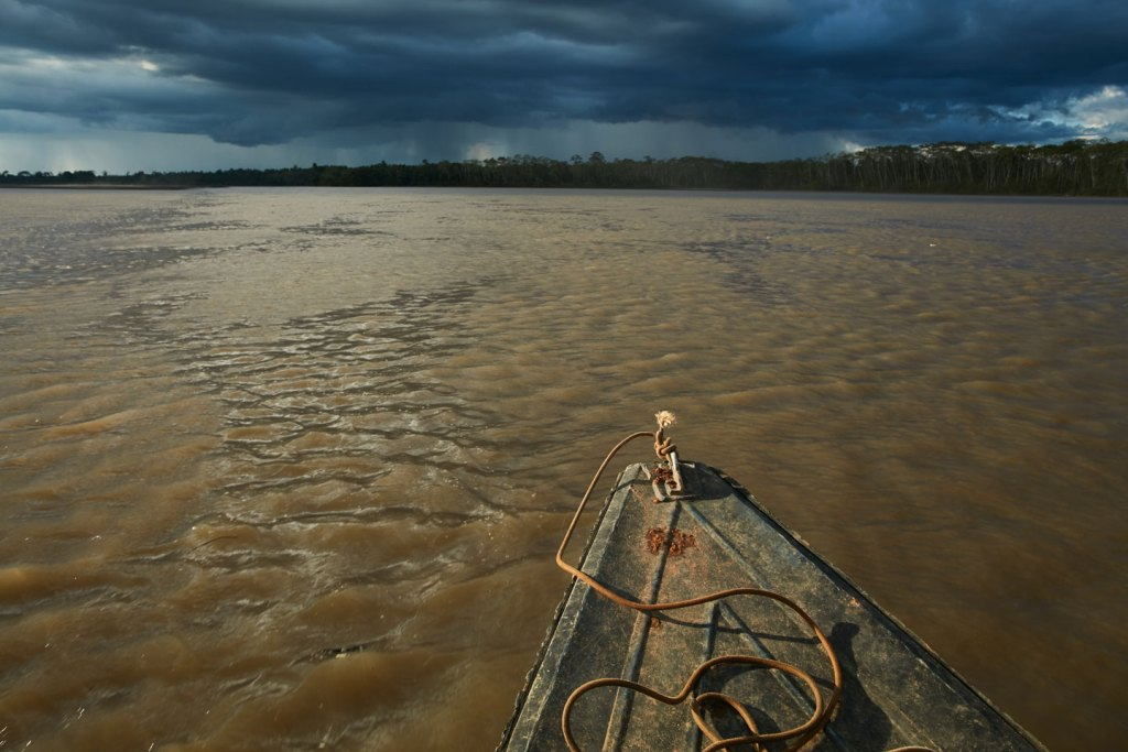 LORETO, PERU – JULY, 2017: The Pastaza River in the state of Loreto, Peru on July, 2017. (Photo by Ben Depp)