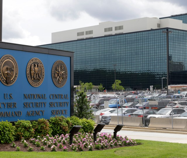 File In This June 6 2013 File Photo The National Security Agency