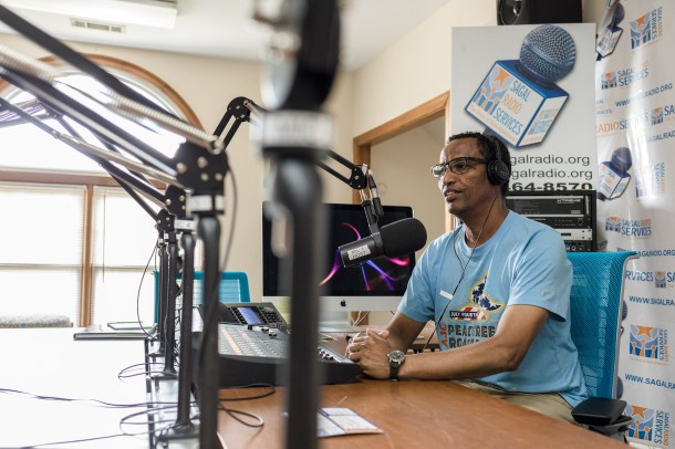 Hussien Mohamed of Segal Radio talks about his experience living in Clarkston, Georgia. Lynsey Weatherspoon for The Intercept