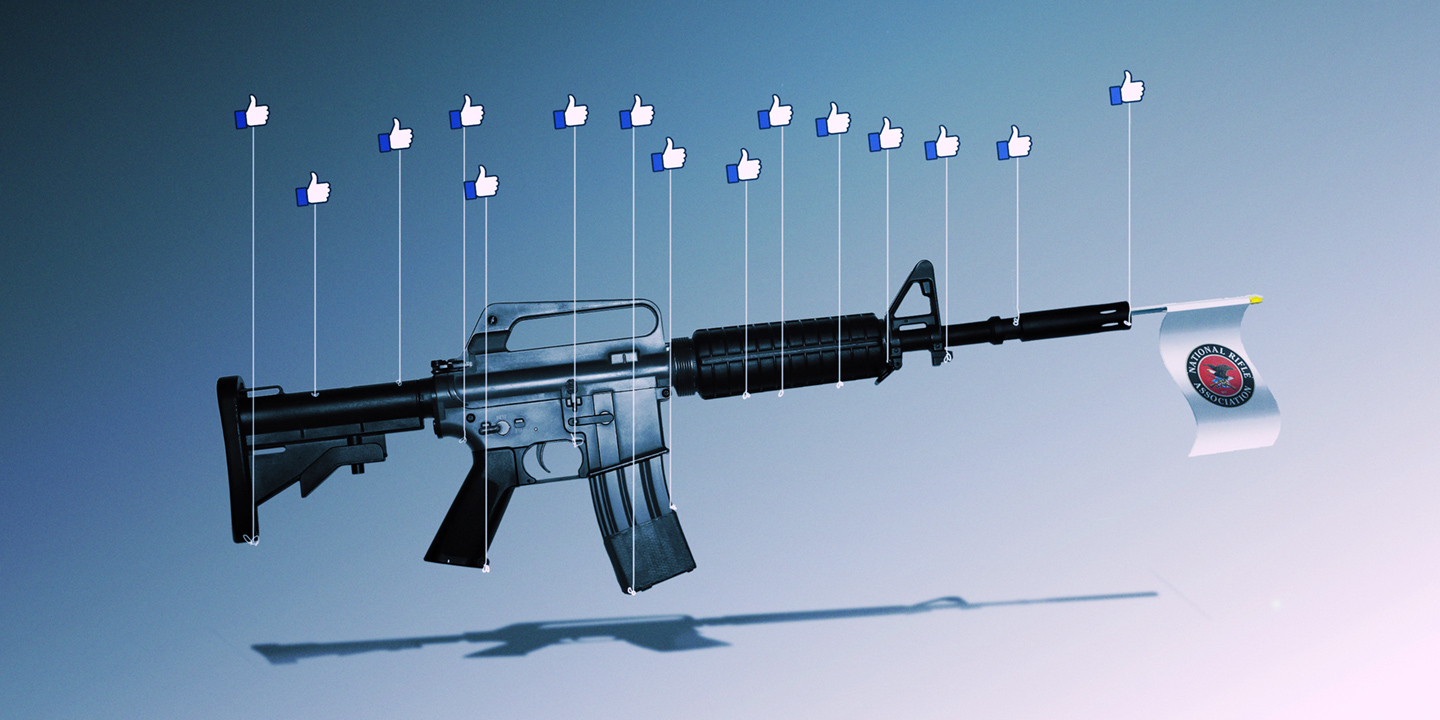 NRA Ramped Up Facebook Advertising Immediately After Mass Shootings in El Paso and Dayton