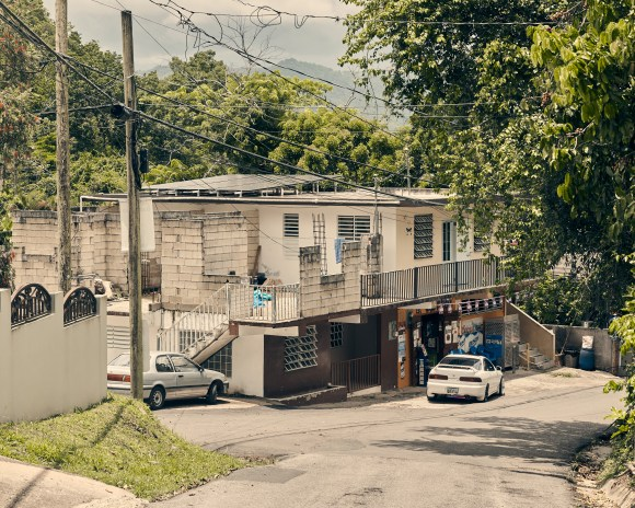 Adjuntas, Puerto Rico - 8/8/19: A bodega powered by solar power installed by Casa Pueblo.CREDIT: Christopher Gregory for The Intercept