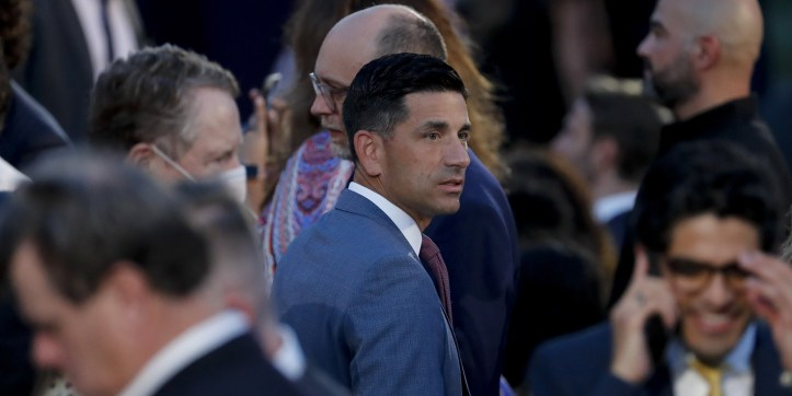 Chad Wolf, acting secretary of the Department of Homeland Security (DHS), attends the Republican National Convention on the South Lawn of the White House in Washington, D.C.