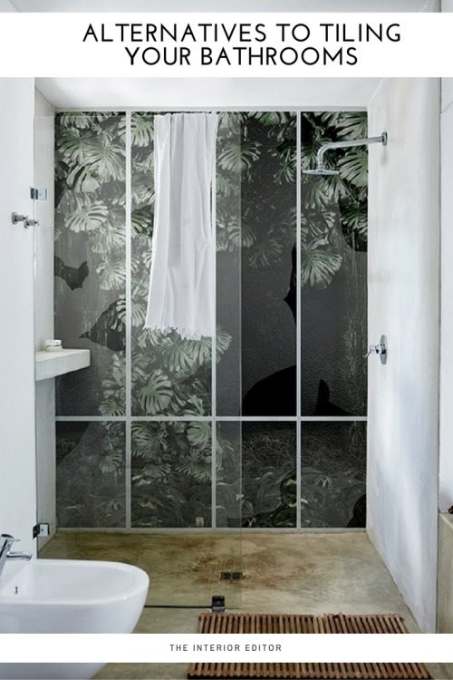 Alternatives to Tiling Your Bathrooms – Waterproof Wallcoverings on waterproof covering for sheetrock, waterproof floor panels interior, waterproof shower bag for gym, types of bathroom floor coverings, waterproof basement walls from interior, waterproof wall panels, waterproof glue for glass shower tiles, waterproof beadboard for bathrooms,