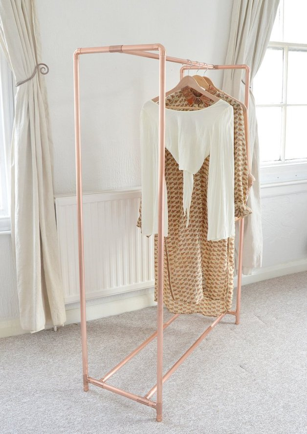 The Alternative To Wardrobes The Clothes Rail The