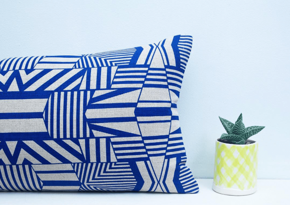 It maybe you're cautious or unsure of what pattern to introduce to your homes. A good starting point is to opt for smaller elements such as cushions, napkins or even tableware. They're affordable and if you change your mind, it's not going to be a big deal.