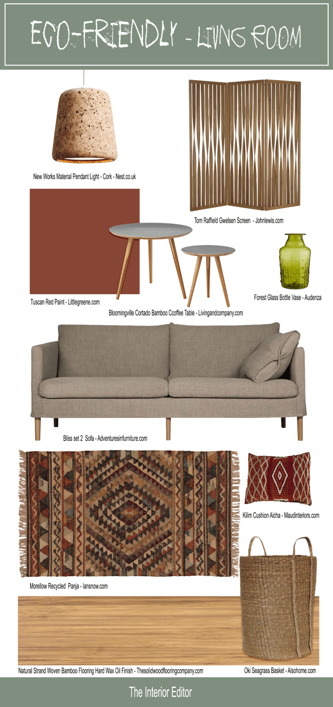 The Eco-Friendly Living Room & Guide