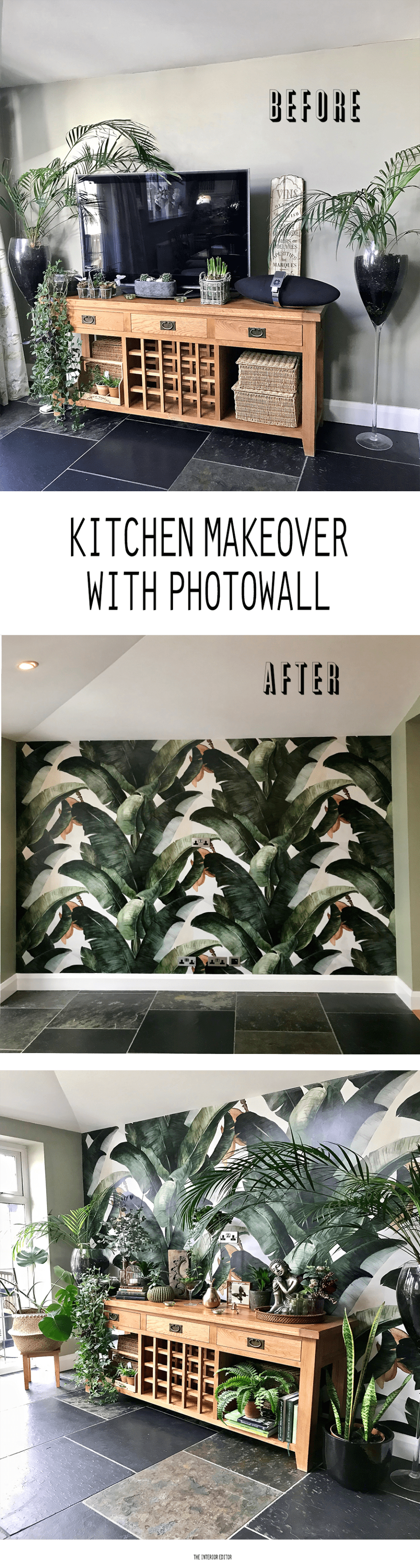 Kitchen Makeover with Photowall