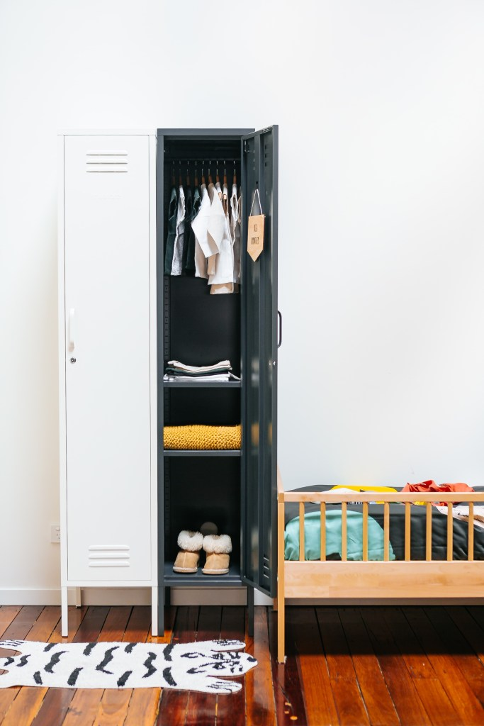 Practical & Versatile Locker Design by Mustard
