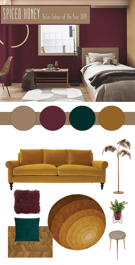 How To Use Spiced Honey - Dulux's Colour Of The Year 2019