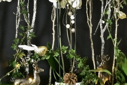How To Create A Magical Woodland Christmas Mantelpiece
