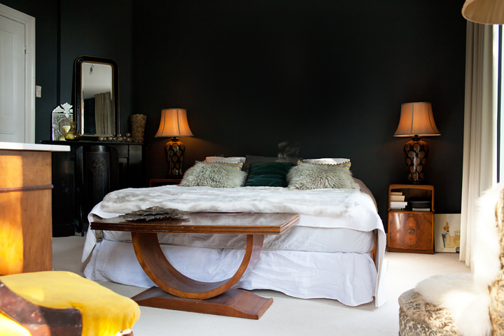 Moody Meets Glam - The Bold and daring Home of Manda Collins
