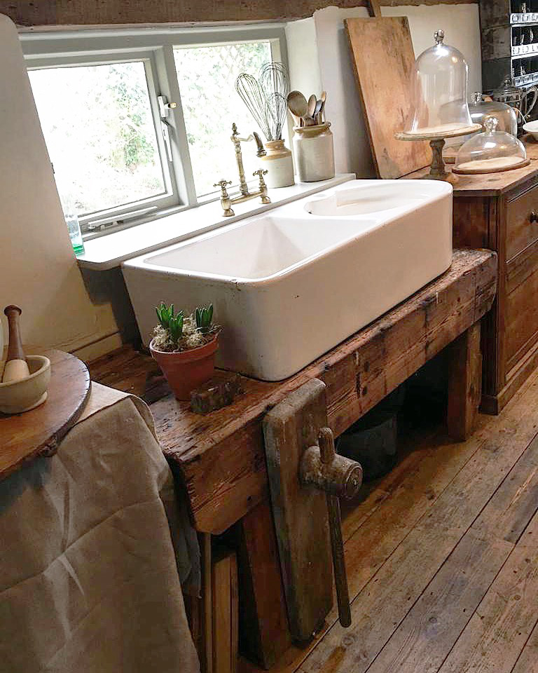 Two Homes & A Love Affair of Reclaimed & Vintage Finds - Susan Mears House Tour