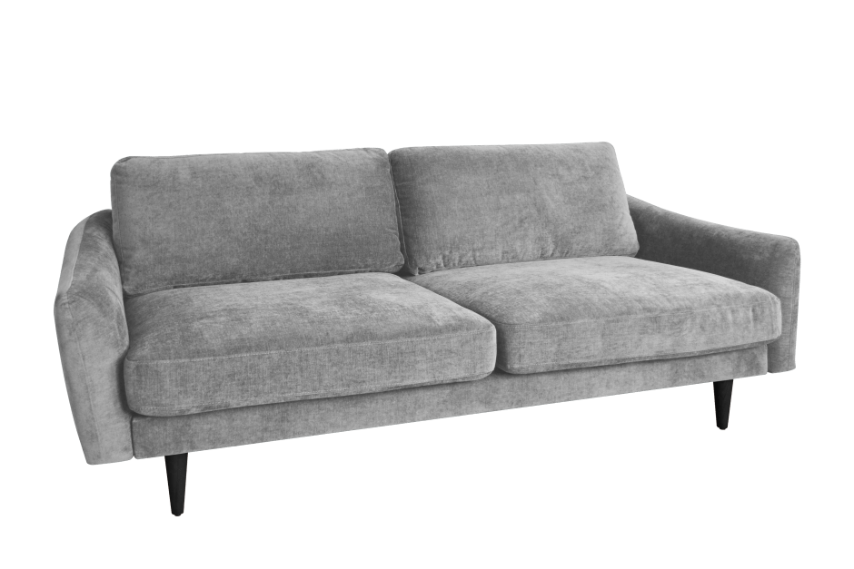 Snug Shack The UK's First Sofa In A Box | Midcentury style sofa delivered in a box within 3 days. Perfect for new home owners or renters and makes for super stylish seating to your living rooms. Easy care fabric in a choice of three colours its ideal for small living rooms.