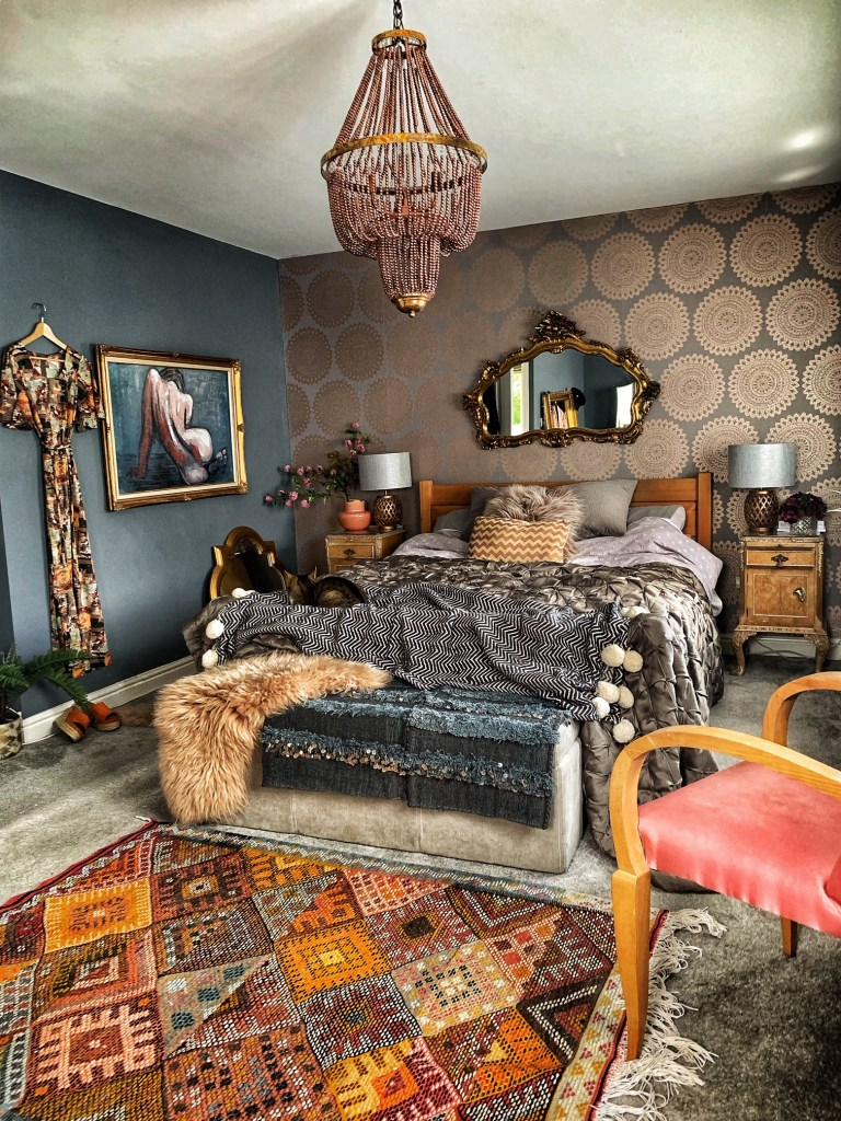 The Unique & Glamorous Maximalist Home of Sarah Parmenter Upcyclist Extraordinaire
