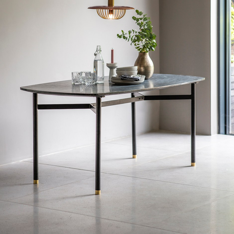 How To Choose The Perfect Dining Table For Your Home | Berkeley Marble Dining Table from Atkin & Thyme