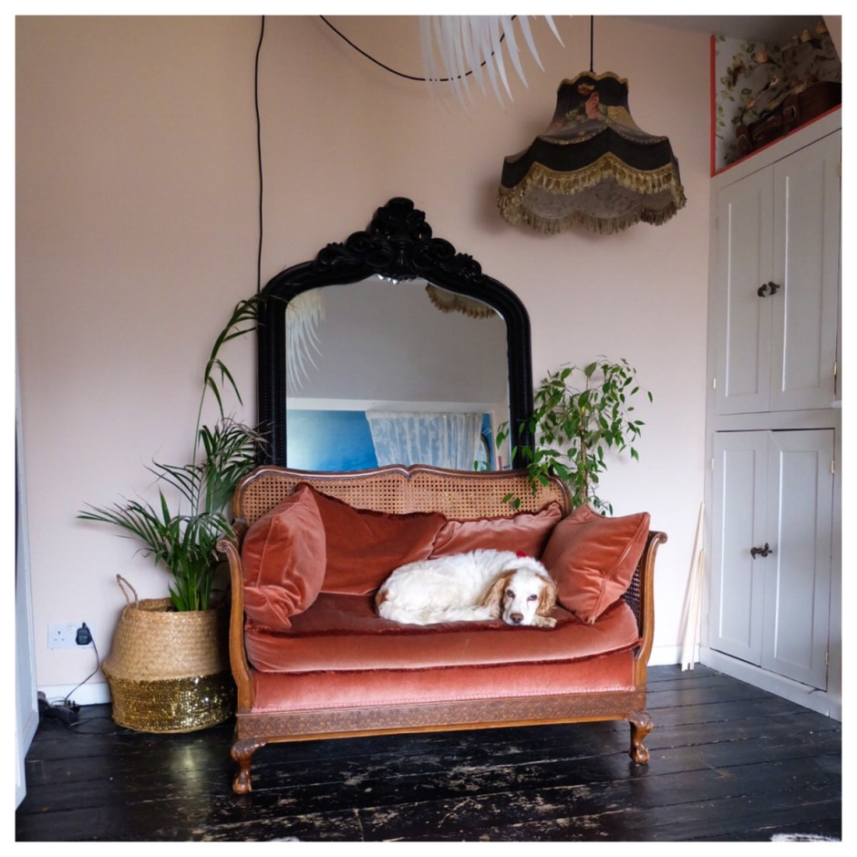 The Creative Eclectic Home of Gold Leaf Queen - Lara Bezzina -vintage furniture finds