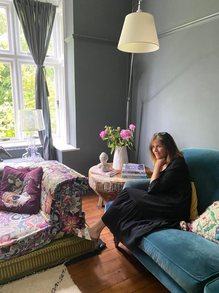 Arts & Crafts Maximalist Home - living room decor Inpso