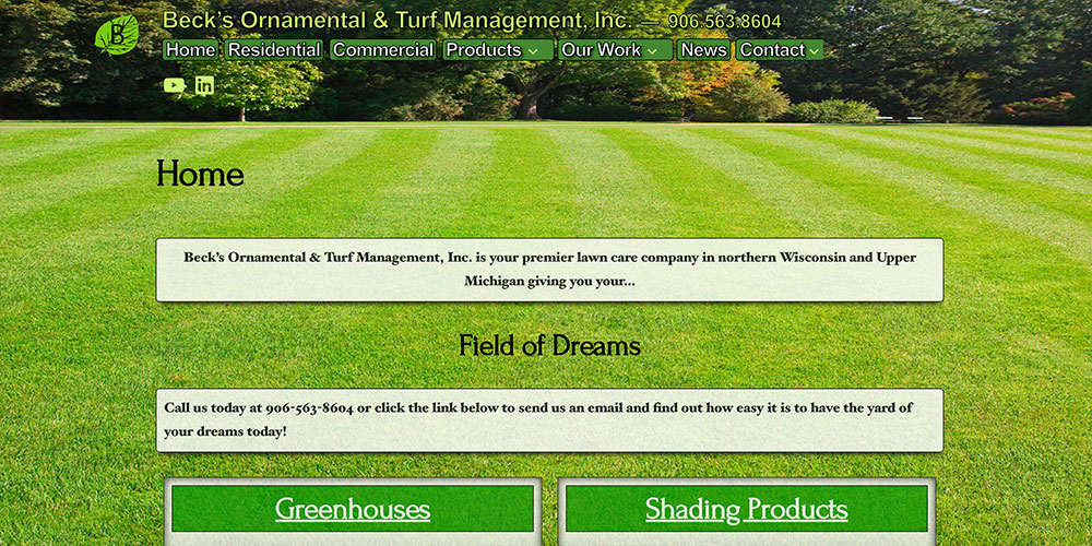 Beck's Ornamental & Turf Management, Inc.
