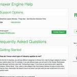 DIIB's Answer Engine Help