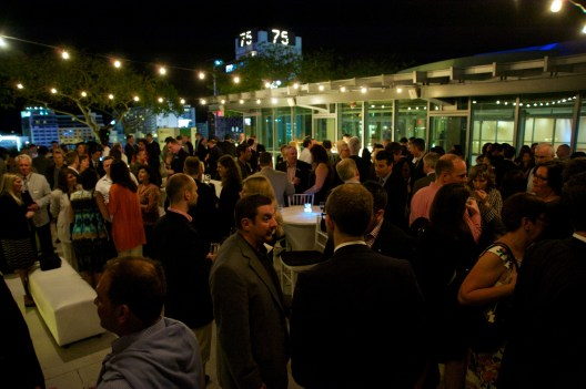 The party in full swing at Intercruises' Pre-CSM 2014 Party