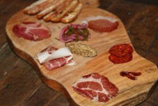 A delicious collection of charcuterie