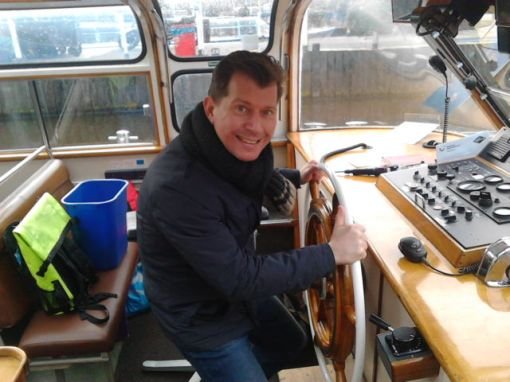 Kim at the Helm