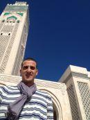 Redouane at Hassan II Mosque