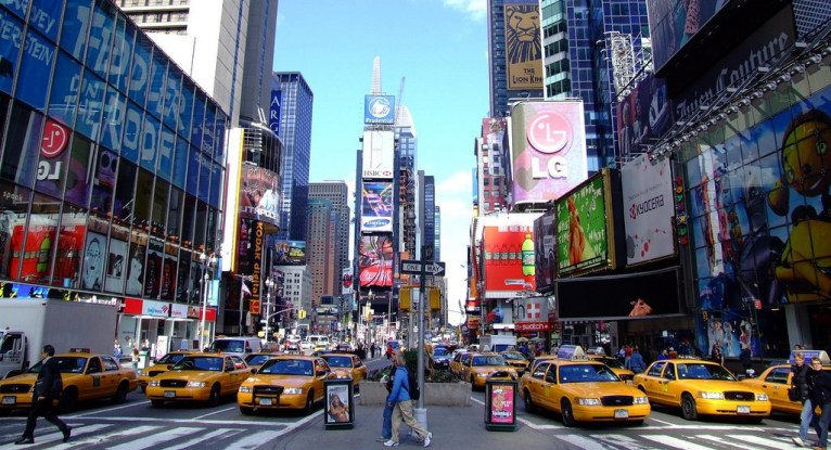 Must-do: Times Square