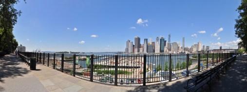 Manhattan view from Brooklyn