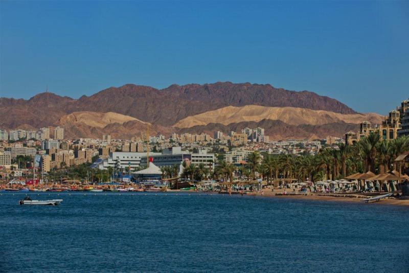 Eilat's coast line