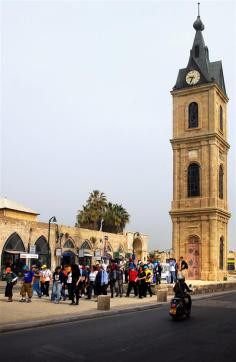 Jaffa's clock tower