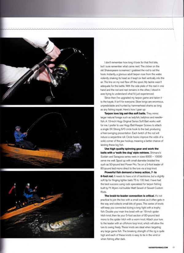 The Intrepid Angler Tarpon Kayak Fish Magazine 2