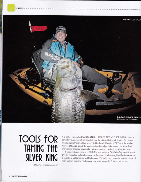 The Intrepid Angler Tarpon Kayak Fish Magazine