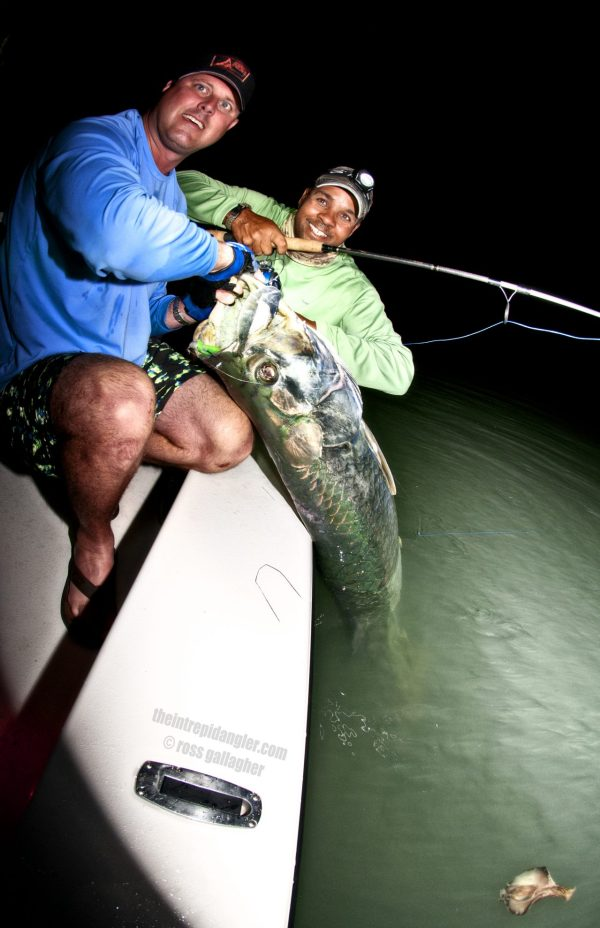 Jay Clark Boatside Hogy Paddle Tarpon IA
