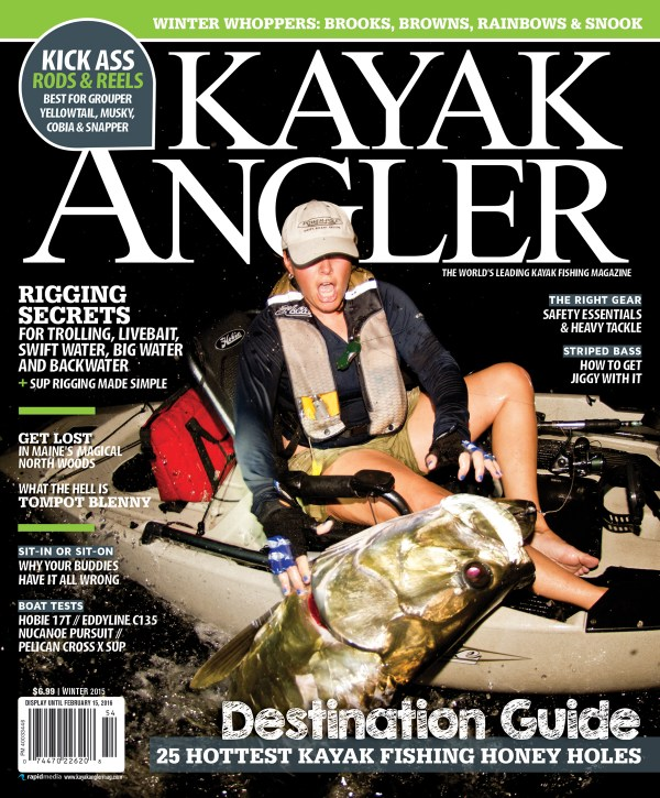 Kayak Angler Mag Covershot 1200