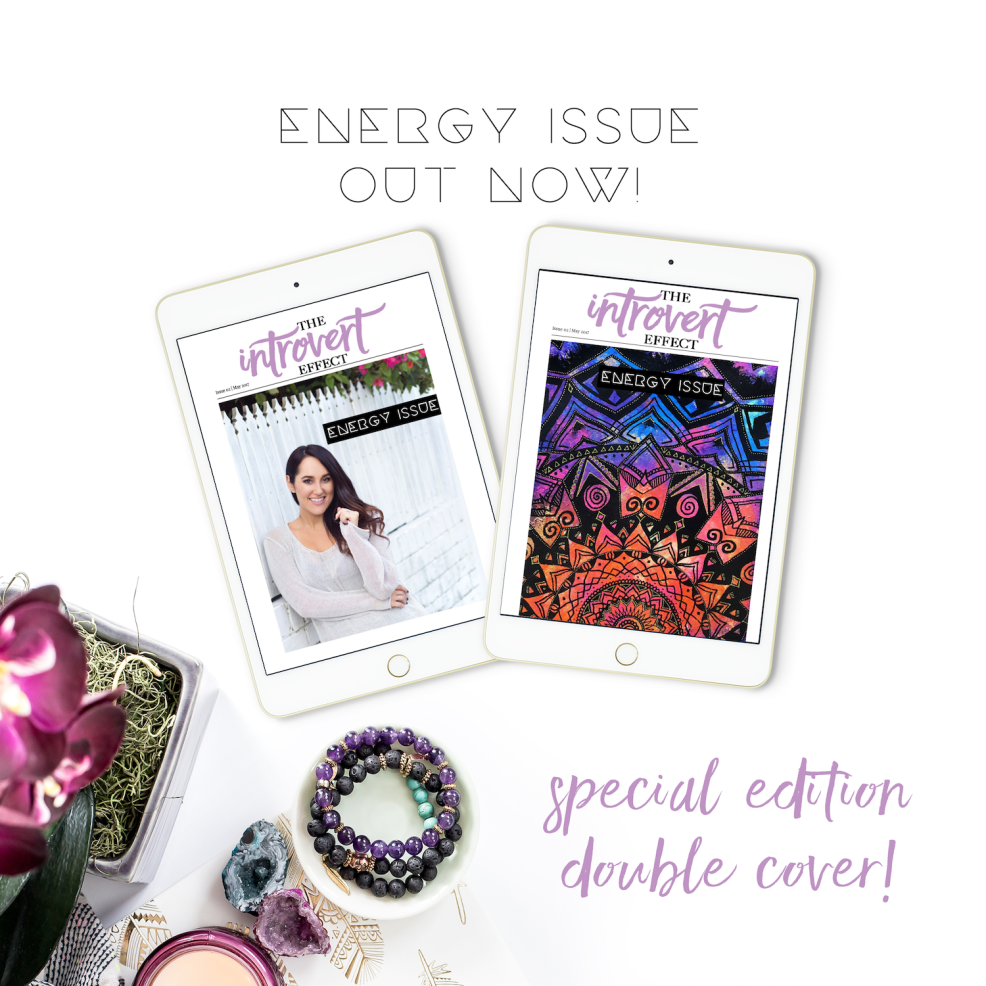 This issue is for introvert's to get tips, tools, and information on how to manage their quiet energy. It's Free!
