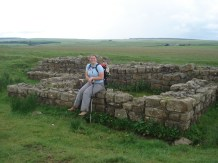 Hadrian's Wall Shanna with no shoes