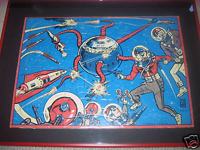 Buck Rogers jigsaw puzzle