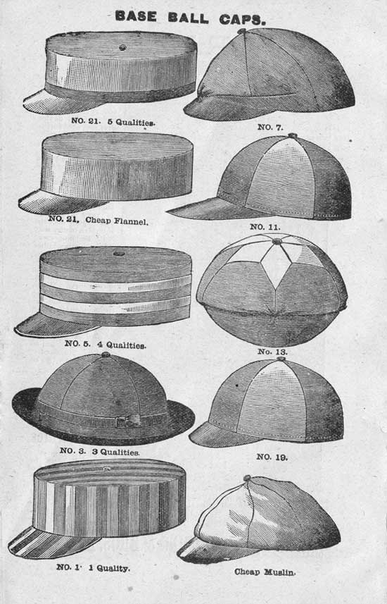 Awesome history of baseball hats