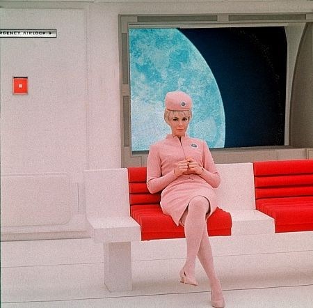Another future stewardess from 2001: A Space Odyssey