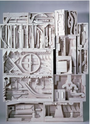 Another of Louise Nevelson's wooden sculptures