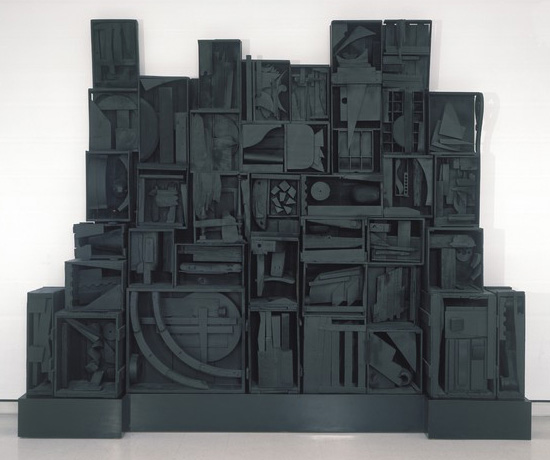 "Louise Nevelson's ""Sky Cathedral"""