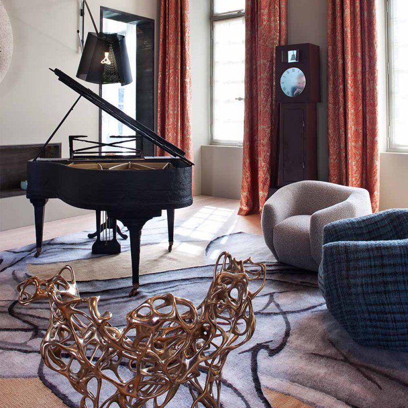 The Invisible Collection Pierre Yovanovitch Métamorphose Rug