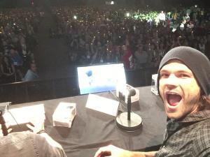 Jared Padalecki at ComicCon last Sunday