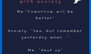 Conversations with anxiety – Oct 2018