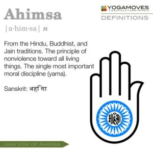 Non Violence for Yoga pt II Buddist Hindu Jain traditions