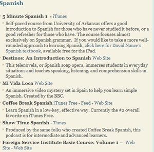 Spanish Classes Online Options