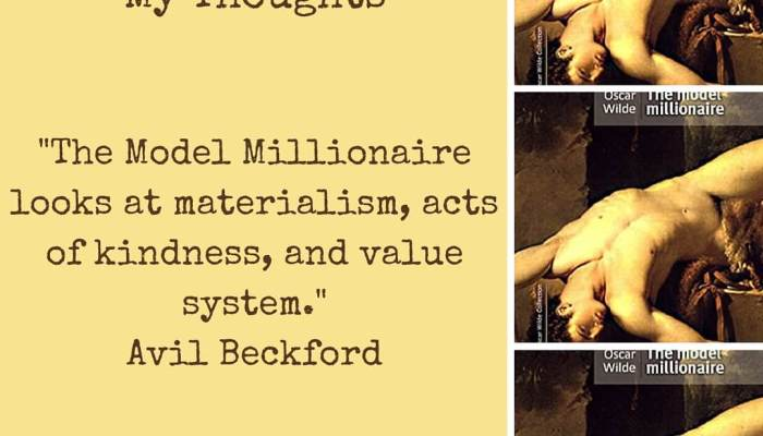 The Model Millionaire by Oscar Wilde