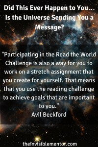 universe sending message