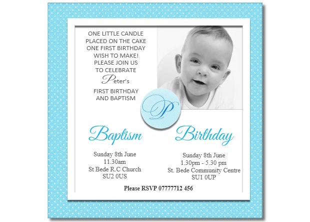 boys joint christening birthday